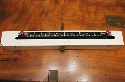 "Vintage MANOMETER 10"" CARBURETOR TUNING Device by VANE Made in AUSTRALIA"