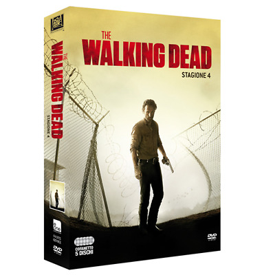 Walking Dead (The) - Stagione 04 (5 Dvd)  [Dvd Nuovo]