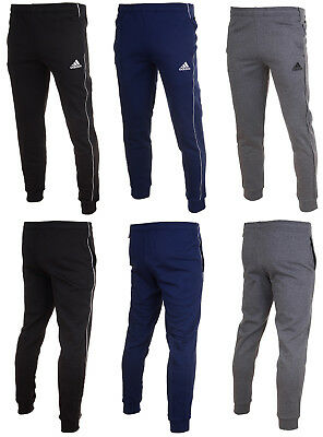 Adidas Core 18 Mens Tapered Fit Pant Tracksuit Jogging Bottoms Pants