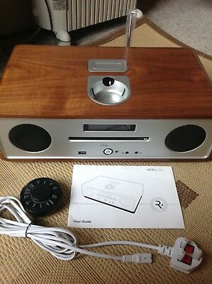 Vita Audio Ruark R4 CD, DAB music system. Collection Only.