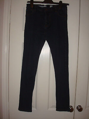 NEXT Boys Super Skinny Dark Blue Jeans, Age 12 years