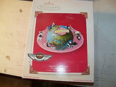 hallmark harley davidson around the world new in box 07489