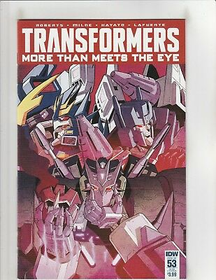 Transformers More Than Meets the Eye (2012) #53 NM- 9.2 Sub. Cover IDW Comics