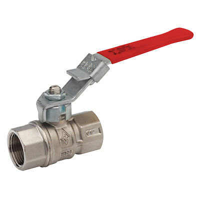 "BRASS LOCKABLE LEVER BALL VALVE - NPT -  1/2"" To 4"" - PNEUMATIC  WATER  AIR"