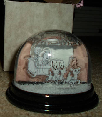 ERASURE Snow Globe boxed brand new promo  Christmas limited edition 2013 andy