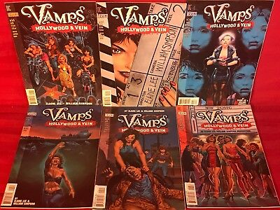 Dc/vertigo Vamps Hollywood Vein # 1-6 Complete Mini-Series Lot 6 Nm/mt Comics