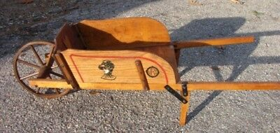19th C Child's Paris Mfg. Wheelbarrow, Best you will find! Fantastic Condition!!