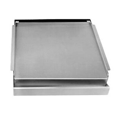 Franklin Machine Products  Add-On Nickel-Plated Steel Griddle for 4 Burner Stove