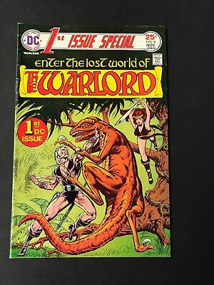 Enter The Lost World Of The Warlord--1St Issue Special--Dc Comic 1973 # 8