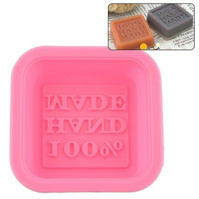 Silicone Cake Baking Tray 100% Handmade Soap Mold Sugercraft Craft DIY