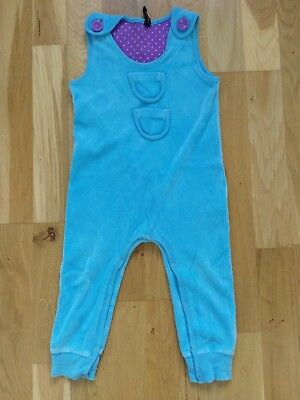 blue girls jumpsuit 1-2 years