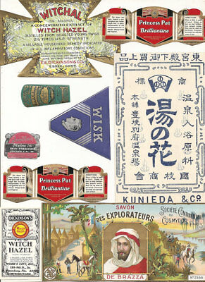 56 1930s plus Drugstore,Pharmacy ,Poison and Medicine Labels etc .