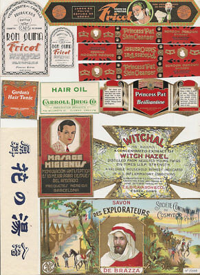 75 1930s plus Drugstore,Pharmacy ,Poison and Medicine Labels etc .