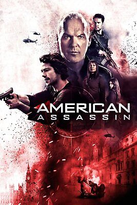 American Assassin (New 2017 Dvd Release) Action,thriller!!!!!!!!!!
