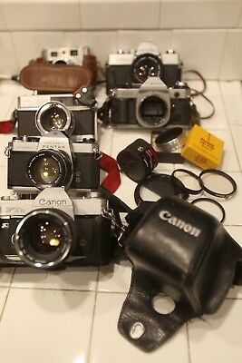 *as-Is* Lot Of Vintage Cameras & Accessories