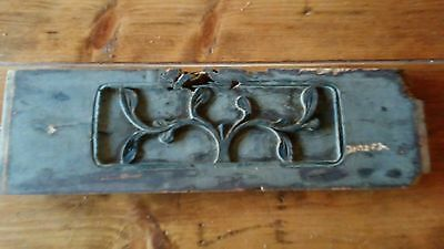Antique Chinese Furniture Architectural Hand Carved Wood Panel (#13)