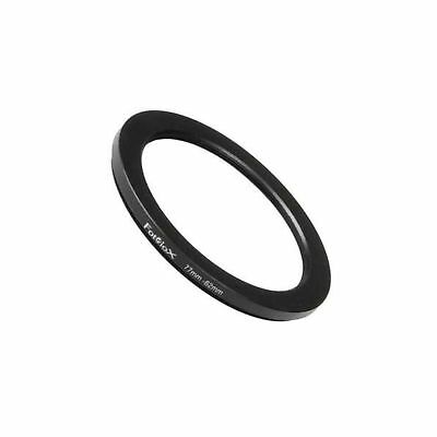 Fotodiox Metal Step Down Ring Filter Adapter, Anodized Black Aluminum 72mm-62...
