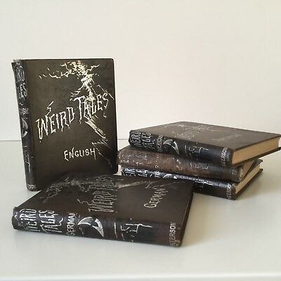 WEIRD TALES 6 VOLUMES 1888 HORROR GHOST SUPERNATURAL WEIRD FIction Anthologies