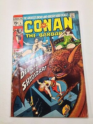Conan the Barbarian # 6 & 7 (1971, Marvel)  BARRY SMITH ARTWORK!