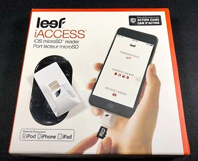 Leef iAccess iOS microSD reader only no SD storage card