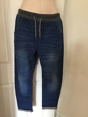 Boys Next Jean Trousers With Elasticated Waist Size 9, 11 & 12 Years Brand New