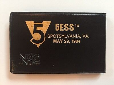 5ESS Cutover Spotsylvania VA Telephone Advertising Collectible Mini Calculator