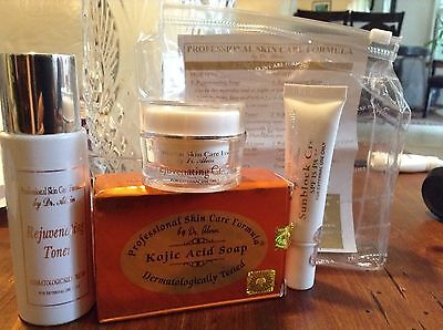 Dr Alvin Rejuvenating Set Professional Skin Care Formula exp.2019 USA-AUTHENTIC