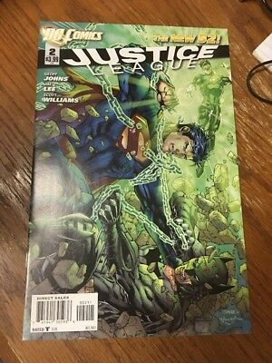 Justice League #2, New 52!!  Jim Lee!!  NM!!