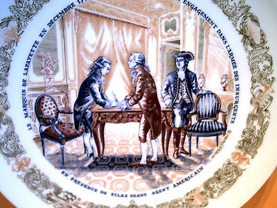 Henri D'arceau-Limoges / Poreclain Collectible Plate / Numbered Limited Edition