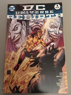 Dc Universe Rebirth Sold Out Fourth Print Signed By Ethan Van Sciver