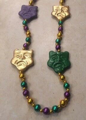 Decorative Mardi Gras Bead