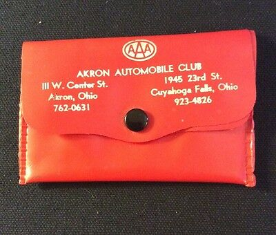 Vintage Sewing Kit AAA Travel Agency Akron Automobile Club Advertising Akron Ohi
