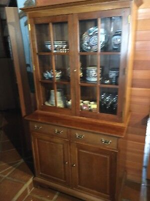Stickley Hutch Cabinet  Early 1980's.