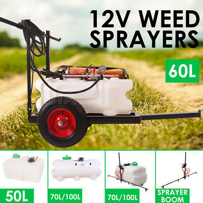 50/60/70/100L ATV Weed Sprayer Boom Sport Spary Tanks Unit Chemical Garden Farm
