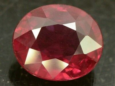 Natural Untreated Red Rhodolite Garnet Gem Stone