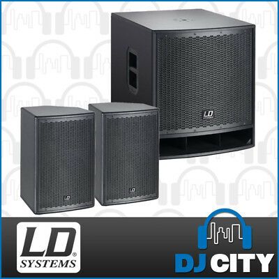 LD Systems PK-LDGT10SUB Powered PA Package