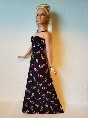 "TYLER Clothes Tonner 16"" Flowers GOWN & JEWELRY handmade Fashion NO DOLL d4e"