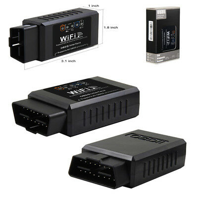 Car WIFI OBD2 OBD Auto Car Diagnostic Scan Tool iPhone Android Scanner Reader x1