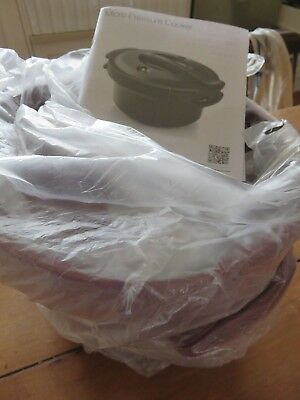 tupperware pressure cooker and book new unwanted gift total cost $220 rrp