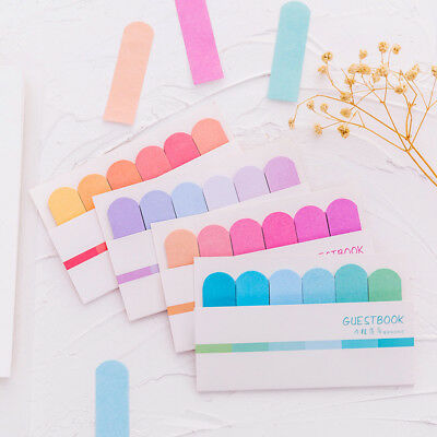 Planner Index Tab Notes Sticky Sticker Gradual Classic Bookmark Marker Memo Flag