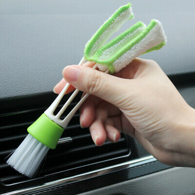 Interior Seat Gap Car Air Outlet Vent Brush Dust Cleaning Tools Internal Cleaner