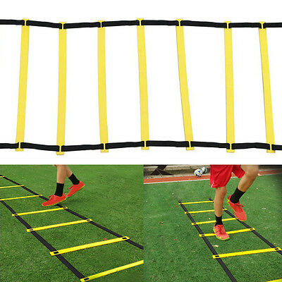 8-rung Agility Ladder for Soccer Football Speed Fitness Feet Tools Training POP