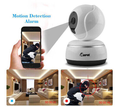 HOT 360 Rotation 720P HD Night Vision Wifi Wireless IP Camera Motion Detection