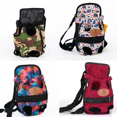 Puppy Pet Dog Backpack Carrier Pouch Front Shoulder Bag Back Pack With Legs Out