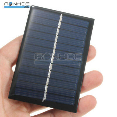 6V 1W Solar Panel Module DIY For Light Battery Cell Phone Toys Chargers New