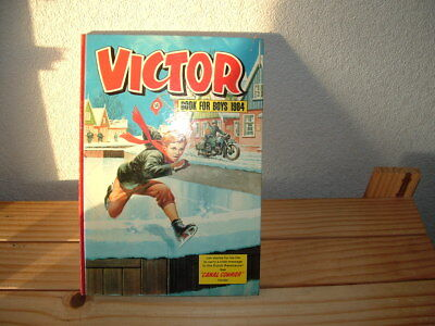 The Victor Book For Boys Annual 1984