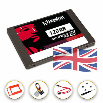 Kingston 120GB SSD V300 SSDnow Solid-State SATA 3 6GB/sec Hard Drive 120G UK