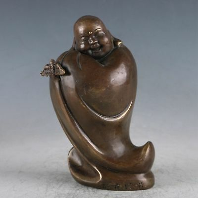 Chinese Copper Buddha Statue Made During The Daming Xuande HT0037