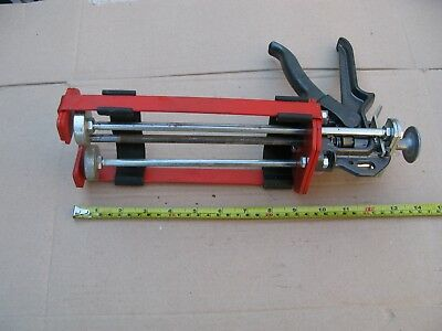 Double Epoxy Caulking GUN by COX No 2042736 Made In England