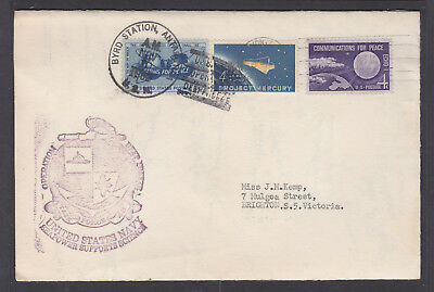 1962 Usa  Byrd Station Antarctica Singed By Just About Every One There!!  Wow!!!